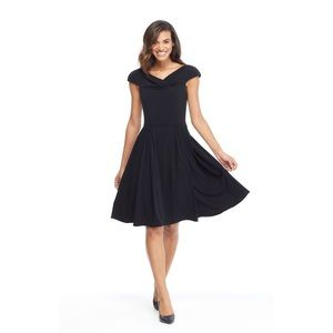Ruthie Cocktail Little Black Dress NWOT